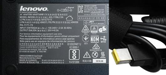 Lenovo Thinkpad 170 Watt    170w Slim Tip Netzteil
